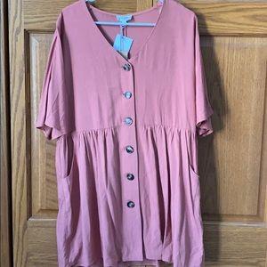 NWT umgee pink dress